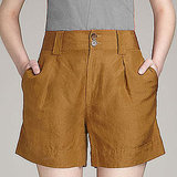 Marc by Marc Jacobs Cari Silk LInen Shorts, $198   Pair with: