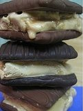 Dulce de leche ice cream sandwiches