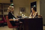 Amber Heard as Maureen and Laura Benanti as Carol Lynne on NBC&#039;s The Playboy Club.