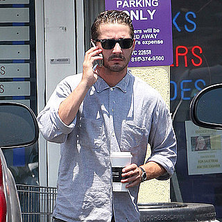 Pictures of Shia LaBeouf Wearing Ray-Bans in LA