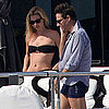 Kate Moss in a Bikini With Husband Jamie Hince in Corsica