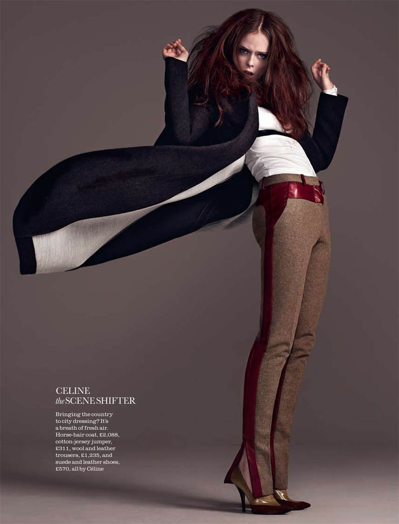 Pictures of coco rocha for elle uk august 2011 shot by matthias