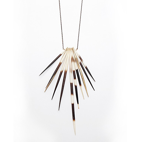 K/LLER Collection Quill Necklace, $265