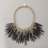 Ashley Pittman Dark Horn Quill Necklace, $595