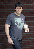 Ben Affleck started his Friday with a caffeine break.