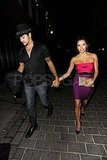 Eva Longoria and Eduardo Cruz on a date in London.