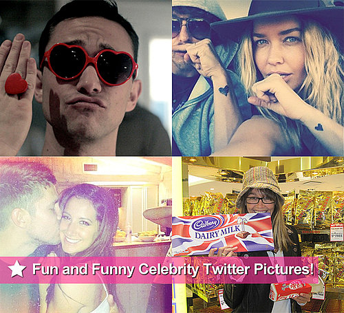 Funny Celebrity Twitter Pictures From Lara Bingle, Ashley Tisdale, Sharni Vinson, Joseph Gordon-Levitt