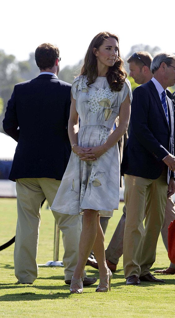 Kate Middleton on polo fields in Santa Barbara.