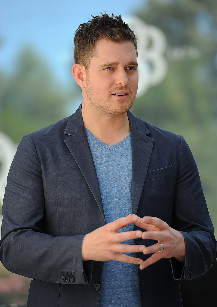 Michael Bublé in Napa.