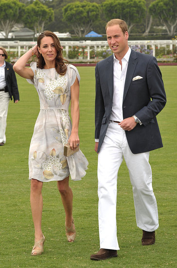 Prince William and Kate Middleton Arrive in Santa Barbara For a Star-Studded Polo Match
