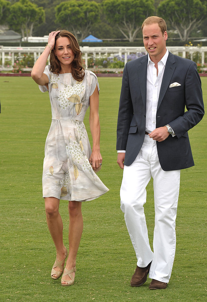 Kate Middleton and Prince William headed to the polo field.