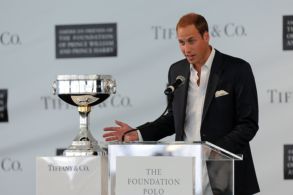 Prince William spoke about the foundation he and his brother, Prince Harry, run,