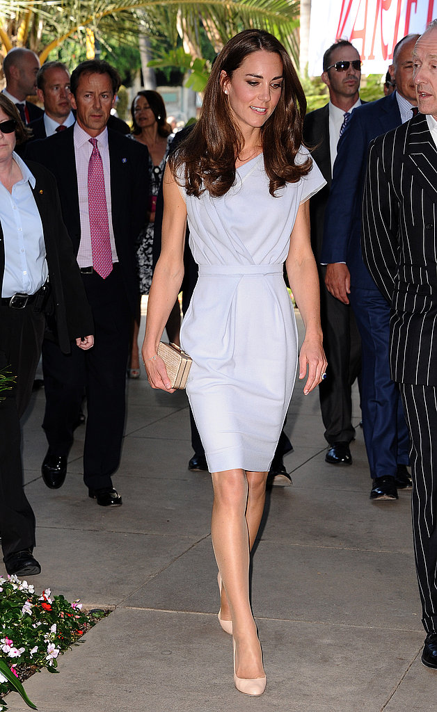Kate Middleton arrives at the Variety technology conference.