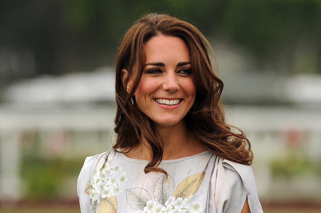 Kate Middleton looked lovely in Jenny Packham.