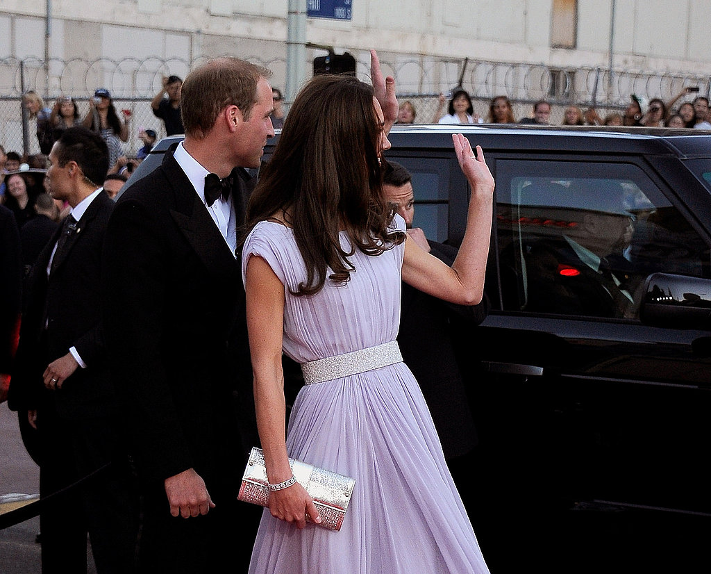 Prince William and Kate Middleton at BAFTA event.
