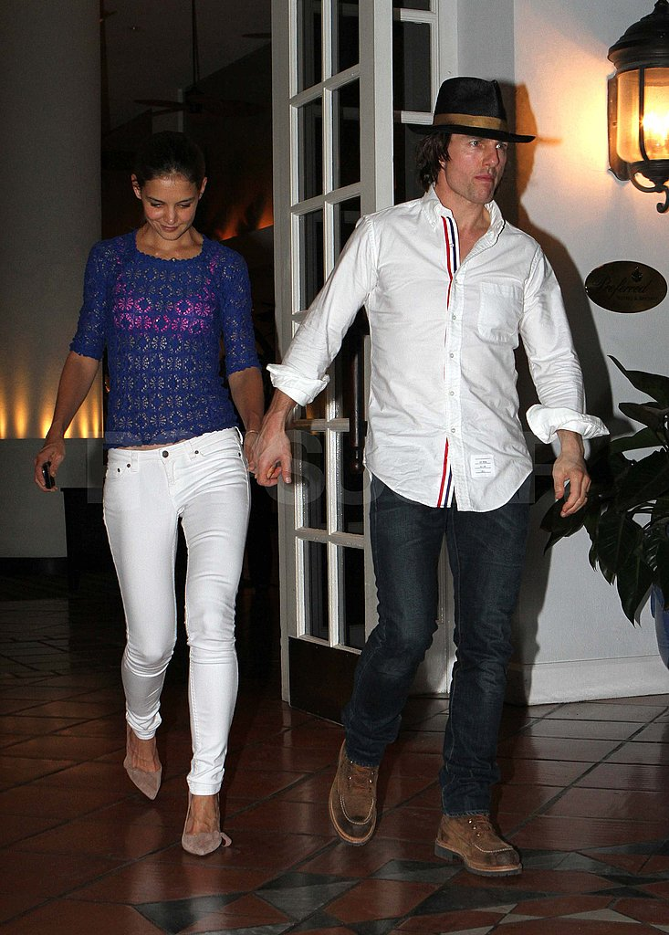 Tom Cruise and Katie Holmes on a date in Miami.