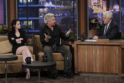The Tonight Show with Jay Leno 2010 pics of Kristen Stewart now in HQ