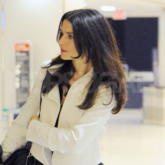 Rachel Weisz at JFK.