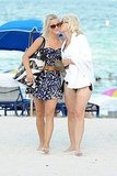 Julianne Hough with her mom Marianne.
