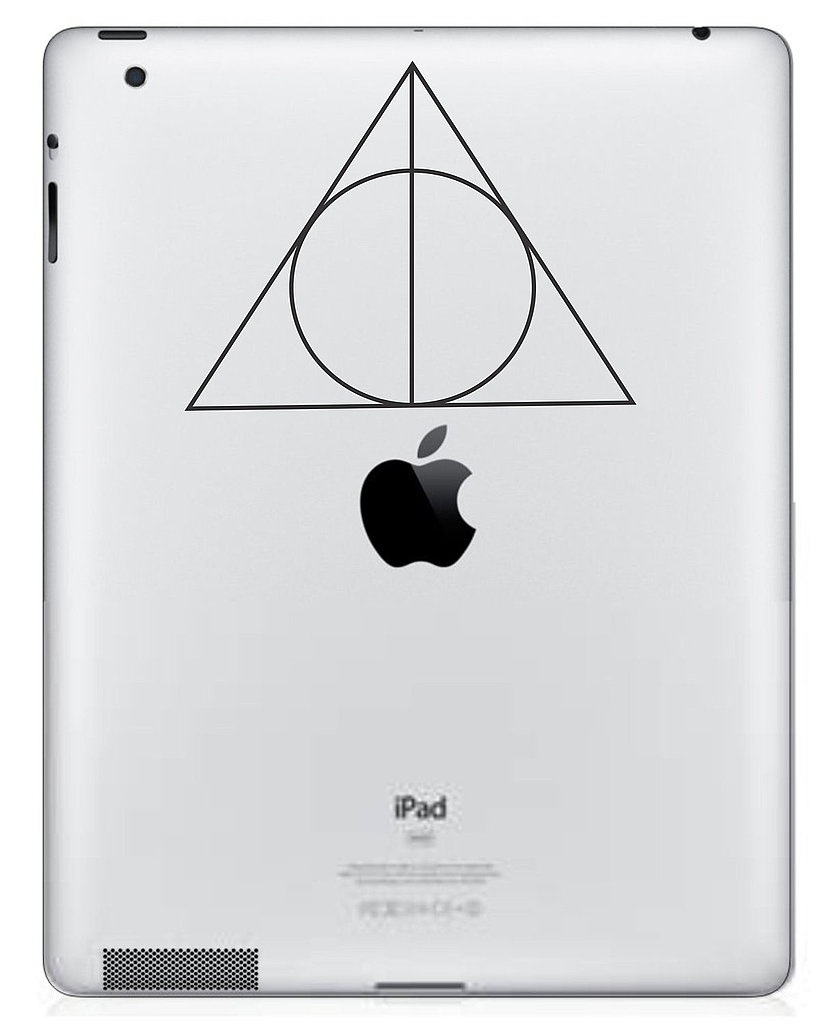 Deathly Hallows iPad Decal ($5)