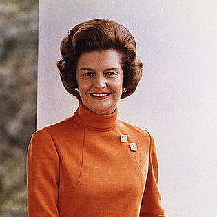 Betty Ford's Political Views, Pictures Through the Years