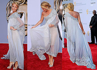 Pictures of Blake Lively in Marchesa Gown at the BAFTA Brits To Watch Event In Hollywood, From All Angles!