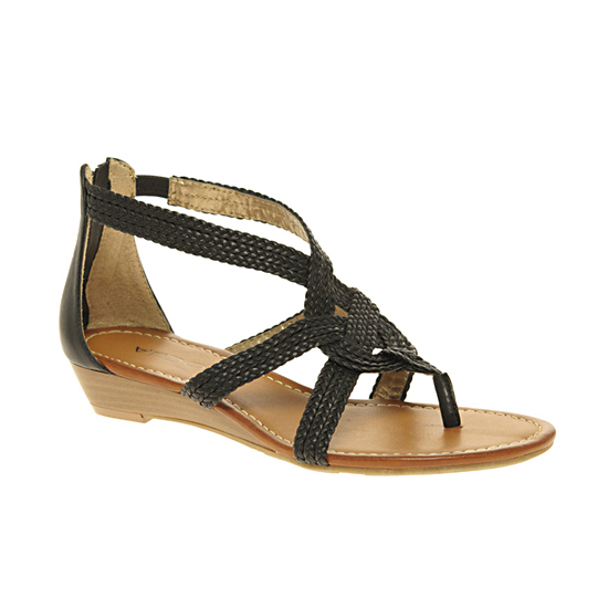 Aldo Zicafoose Zip Back Flat Sandals, $69