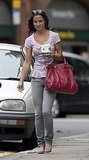 Pippa Middleton takes coffee to go.