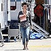 Rachel Bilson on Set of The To Do List in LA