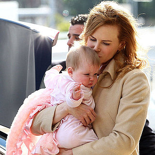 Picture of Nicole Kidman With Baby Faith Kidman Urban