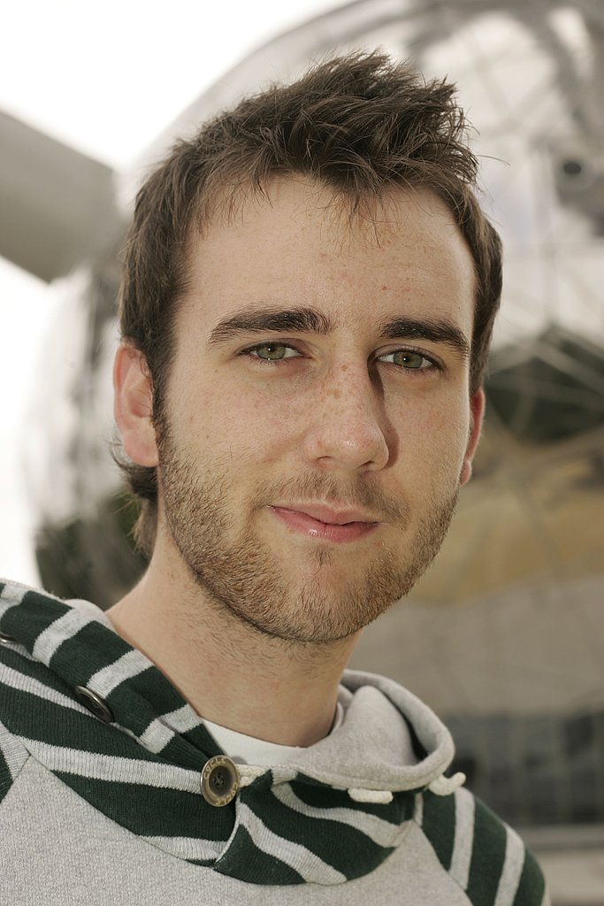 Matt Lewis makes scruffy look good at a photo call back in 2007.