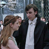 One of my favorite Neville moments was his excitement over dancing with Ginny at the Yule Ball in Harry Potter and the Goblet of Fire.