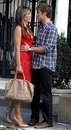 Chace Crawford and Elizabeth Hurley Steam Up the Set of Gossip Girl