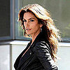 Cindy Crawford Shooting Deichmann Shoes Campaign in NYC
