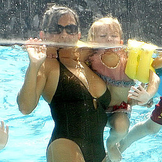 Lynne Spears in a Swimsuit With Britney Spears's Sons