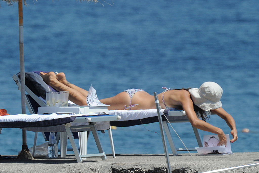 Helena Christensen Shows Her Supermodel Bod in a Bikini While Off in Italy