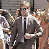 Ryan Gosling Arrives to Late Night With David Letterman