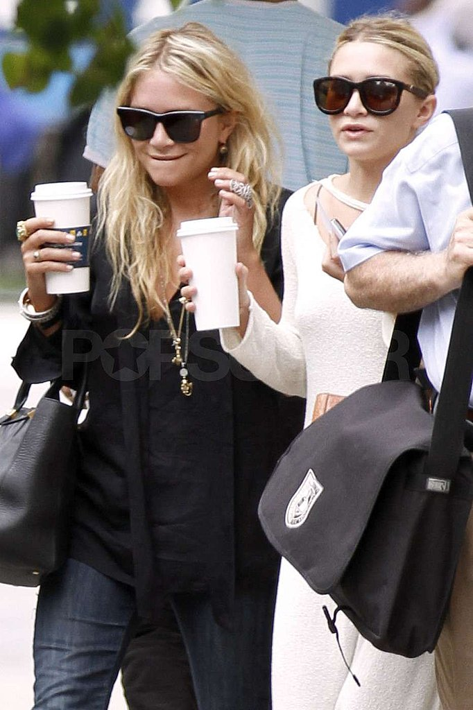 Mary-Kate Olsen and Ashley Olsen were out on the Upper East Side.