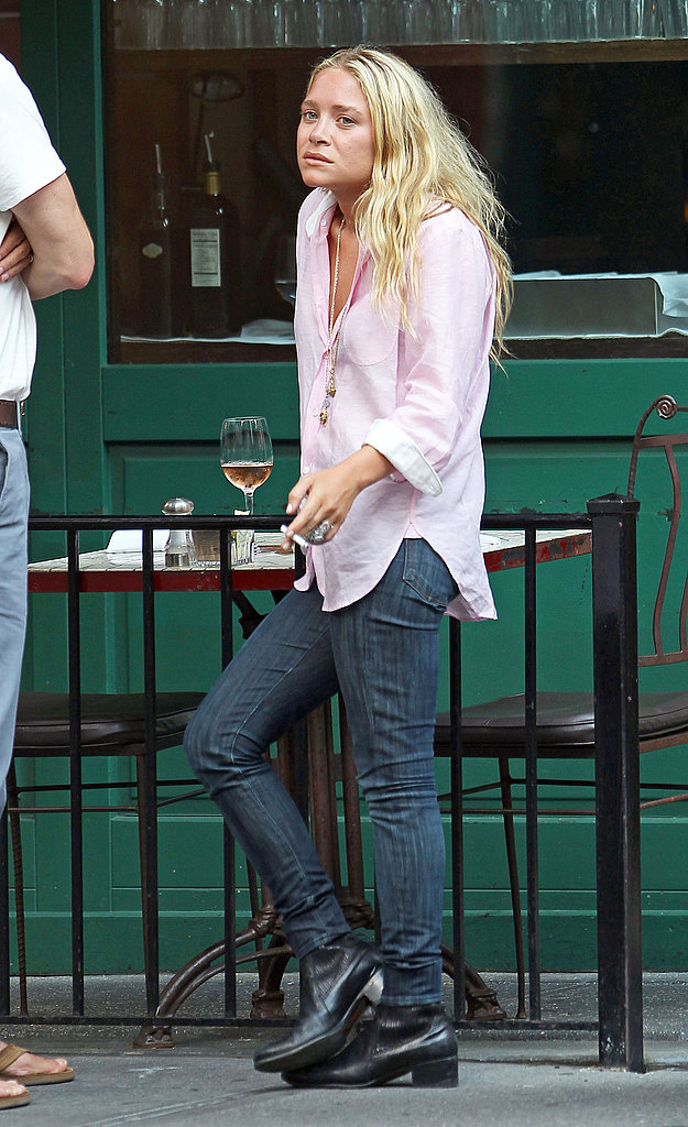 Mary-Kate Olsen during the Summer in NYC.