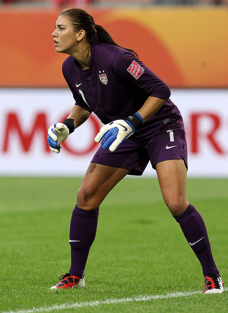 Hope Solo is ready to go against Sweden.