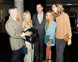 Simon Doonan, Ashley Olsen, Mark Lee, Mary-Kate Olsen, Amanda Brooks