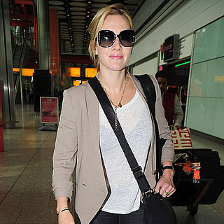 Kate Winslet at Heathrow Airport Pictures