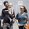 Amy Adams With Aviana and Darren Le Gallo