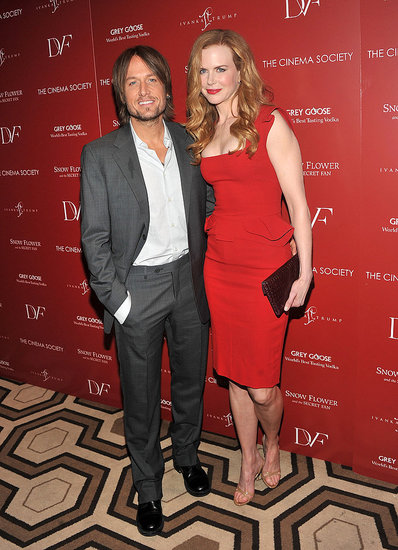 Nicole Kidman and Keith Urban at a screening of Snow Flower And The Secret Fan.