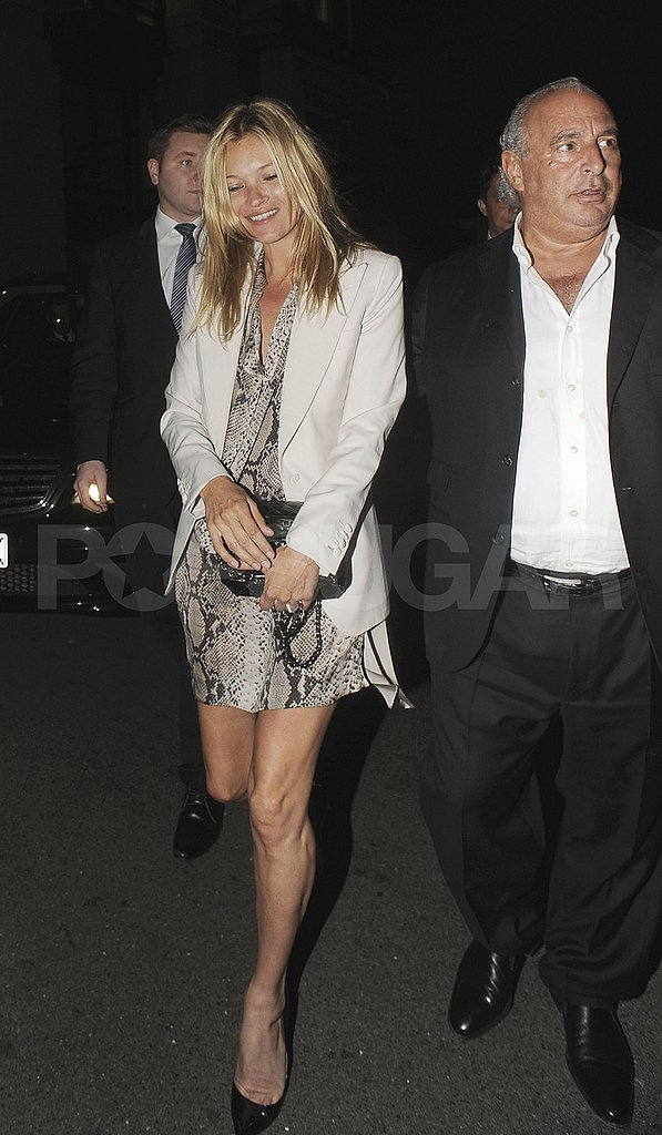 Kate Moss and her Topshop buddy Philip Green.