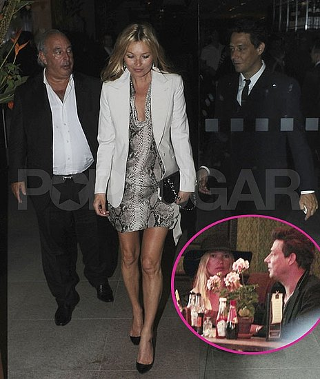 Kate Moss and Jamie Hince Thank Philip Green For Their Honeymoon With a Special Dinner