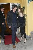 Patrick Dempsey and Ellen Pompeo parted ways after dinner in LA.