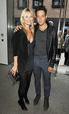 Kate Moss and Jamie Hince show some love.
