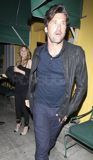 Patrick Dempsey and Ellen Pompeo Meet Up For a Grey's Anatomy Reunion Dinner