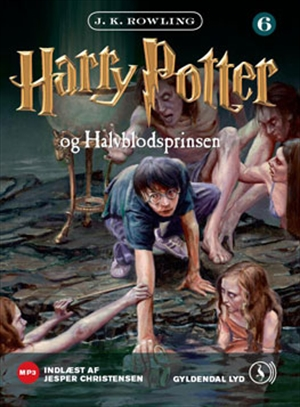 Danish Harry Potter and the Half-Blood Prince (Audio Book)